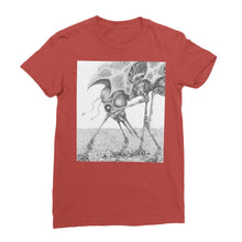 Load image into Gallery viewer, Giant Alien Bug Womens T-Shirt