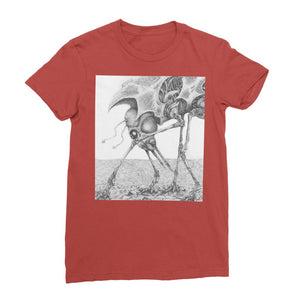 Giant Alien Bug Womens T-Shirt