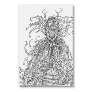 Lady Brambles Stretched Canvas
