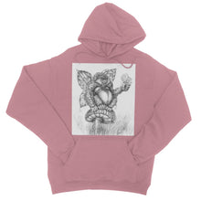 Load image into Gallery viewer, Pickles (The Fairy-Gorilla) College Hoodie