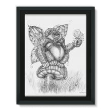 Load image into Gallery viewer, Pickles (The Fairy-Gorilla) Framed Canvas