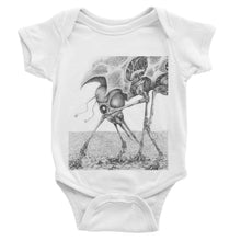 Load image into Gallery viewer, Giant Alien Bug Baby Bodysuit