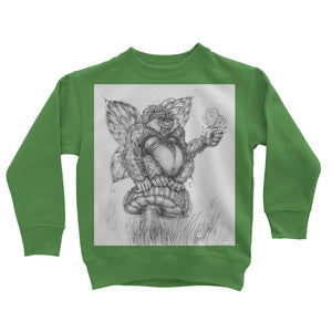 Pickles (The Fairy-Gorilla) Kids Sweatshirt