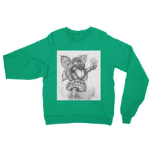 Load image into Gallery viewer, Pickles (The Fairy-Gorilla) Sweatshirt