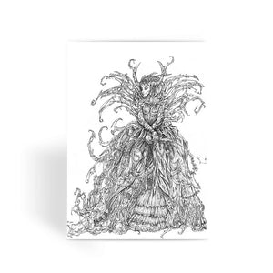 Lady Brambles Greeting Card