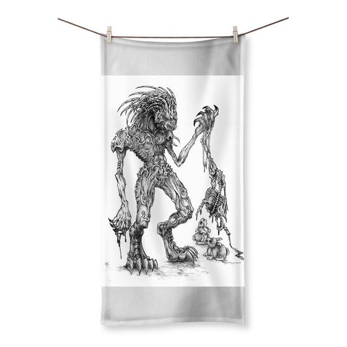 Vorpal Beach Towel