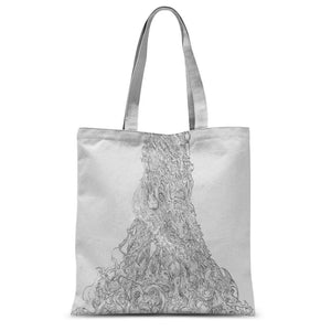 Sky Tree Sublimation Tote Bag