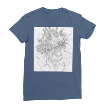 Load image into Gallery viewer, Jellyfish-O-War Womens T-Shirt