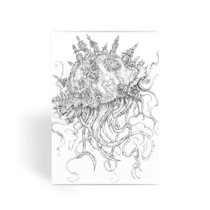 Jellyfish-O-War Greeting Card