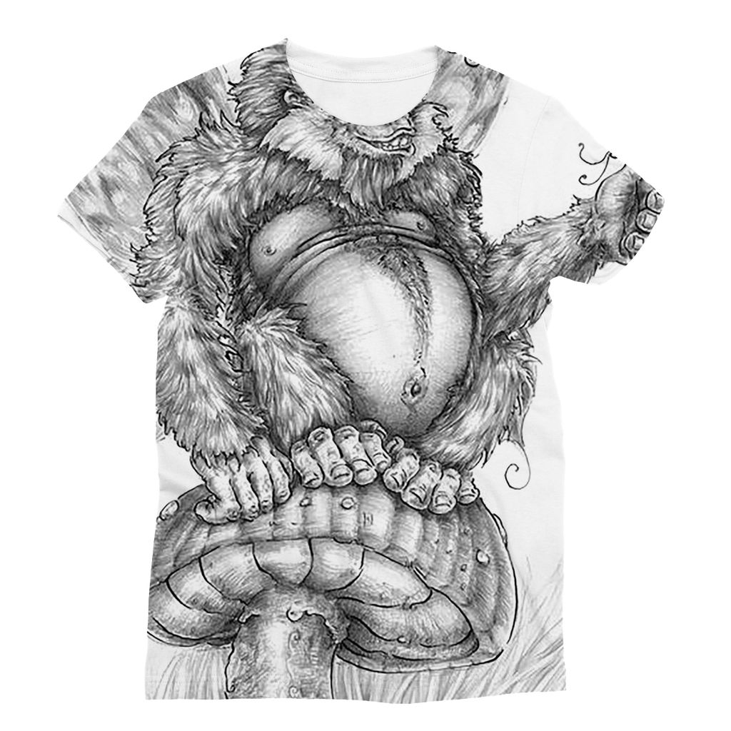 Pickles (The Fairy-Gorilla) Sublimation T-Shirt
