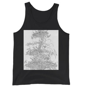 Flying Laser Jersey Tank Top