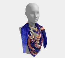 Load image into Gallery viewer, Translucent Squid Scarf