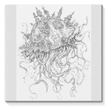 Load image into Gallery viewer, Jellyfish-O-War Stretched Canvas
