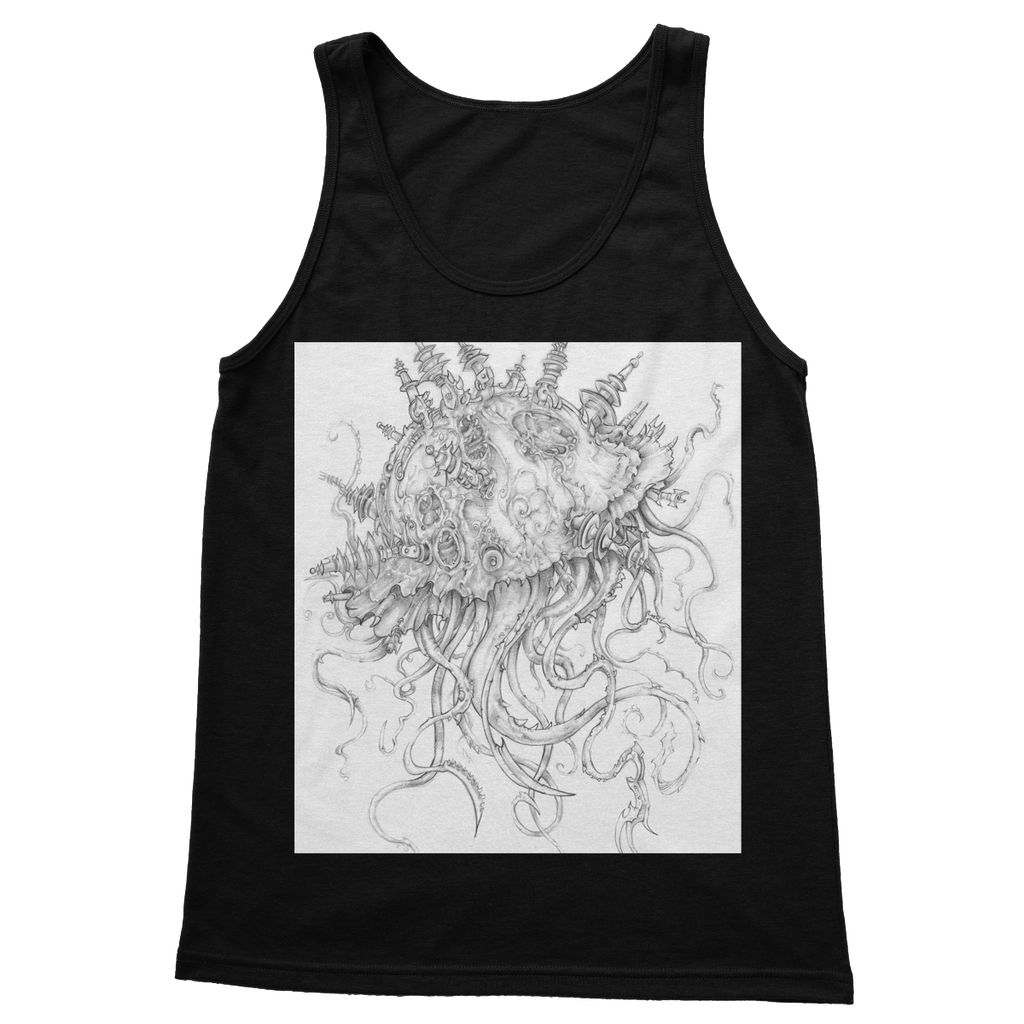 Jellyfish-O-War Softstyle Tank Top
