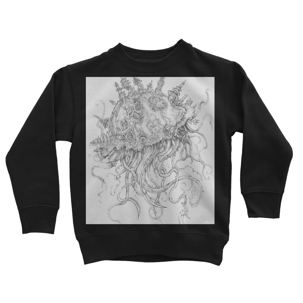 Jellyfish-O-War Kids Sweatshirt