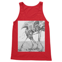 Load image into Gallery viewer, Giant Alien Bug Softstyle Tank Top