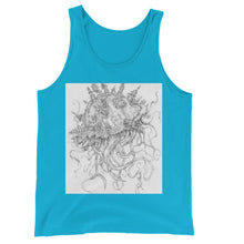 Load image into Gallery viewer, Jellyfish-O-War Jersey Tank Top