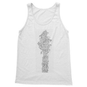 Space Elevator Softstyle Tank Top