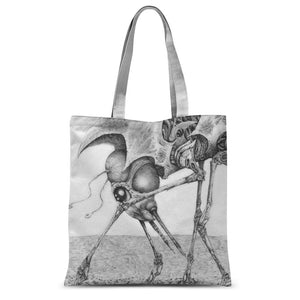 Giant Alien Bug Sublimation Tote Bag