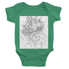 Load image into Gallery viewer, Jellyfish-O-War Baby Bodysuit