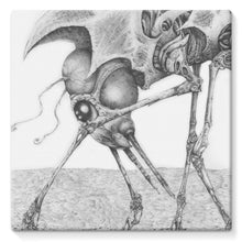 Load image into Gallery viewer, Giant Alien Bug Stretched Eco-Canvas
