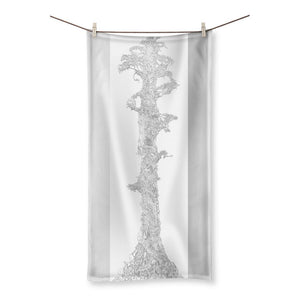 Sky Tree Beach Towel