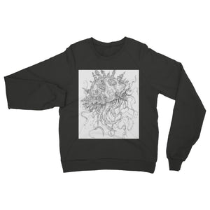 Jellyfish-O-War Womens Sweatshirt