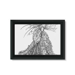 Sussurus Framed Canvas