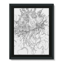 Load image into Gallery viewer, Jellyfish-O-War Framed Canvas