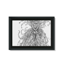 Load image into Gallery viewer, Lady Brambles Framed Eco-Canvas