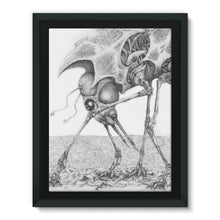 Load image into Gallery viewer, Giant Alien Bug Framed Canvas