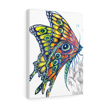 Load image into Gallery viewer, Vibrant Butterfly - Canvas Gallery Wraps