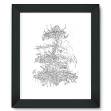Load image into Gallery viewer, Flying Laser Framed Fine Art Print