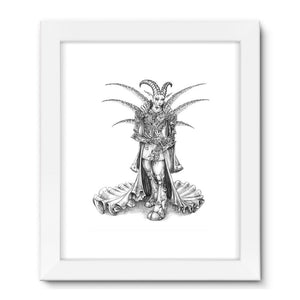 Sir Asti Framed Fine Art Print