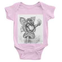 Load image into Gallery viewer, Pickles (The Fairy-Gorilla) Baby Bodysuit