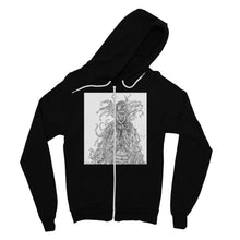 Load image into Gallery viewer, Lady Brambles Fine Jersey Zip Hoodie