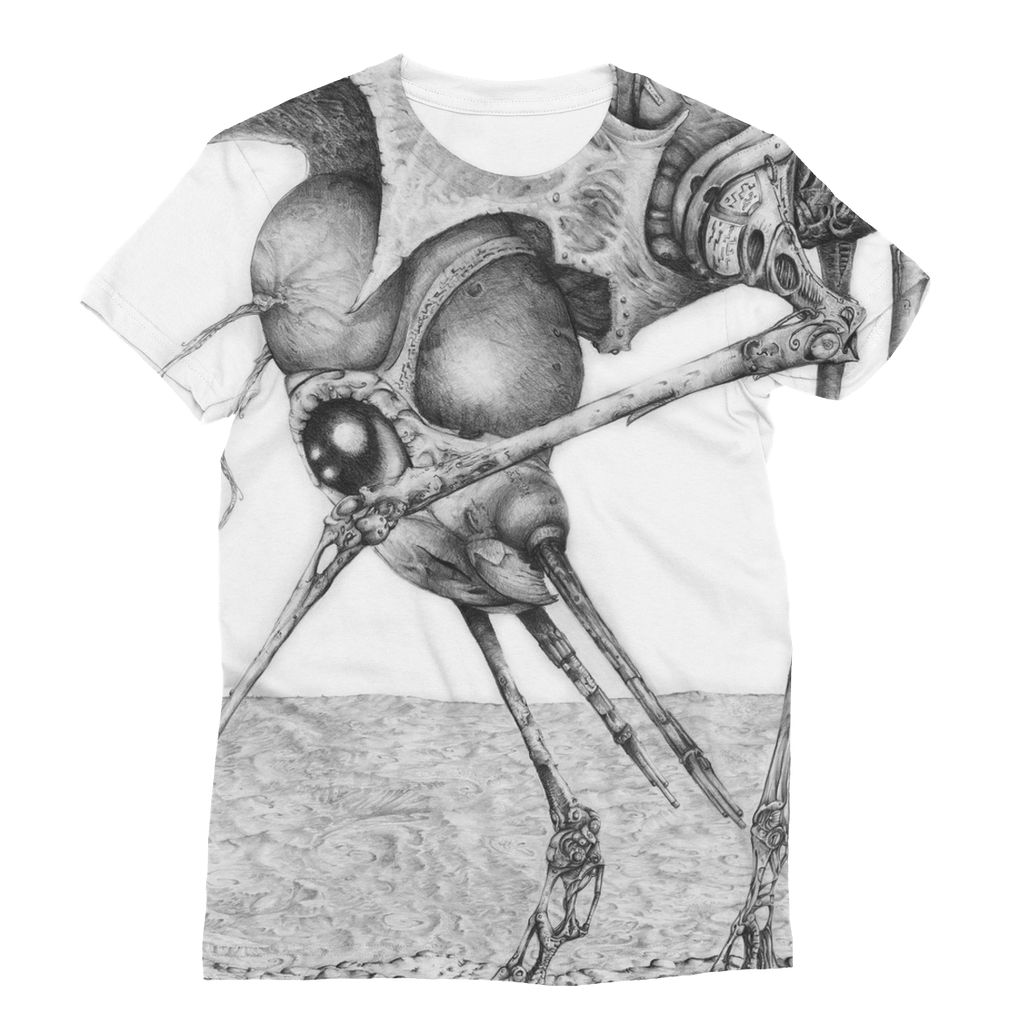 Giant Alien Bug Sublimation T-Shirt