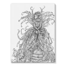 Load image into Gallery viewer, Lady Brambles Stretched Eco-Canvas
