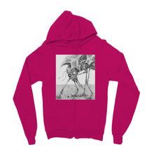 Load image into Gallery viewer, Giant Alien Bug Kids' Zip Hoodie