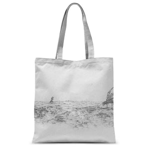 Pastoral Landscape Sublimation Tote Bag