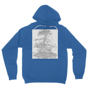 Flying Laser Fleece Pullover Hoodie
