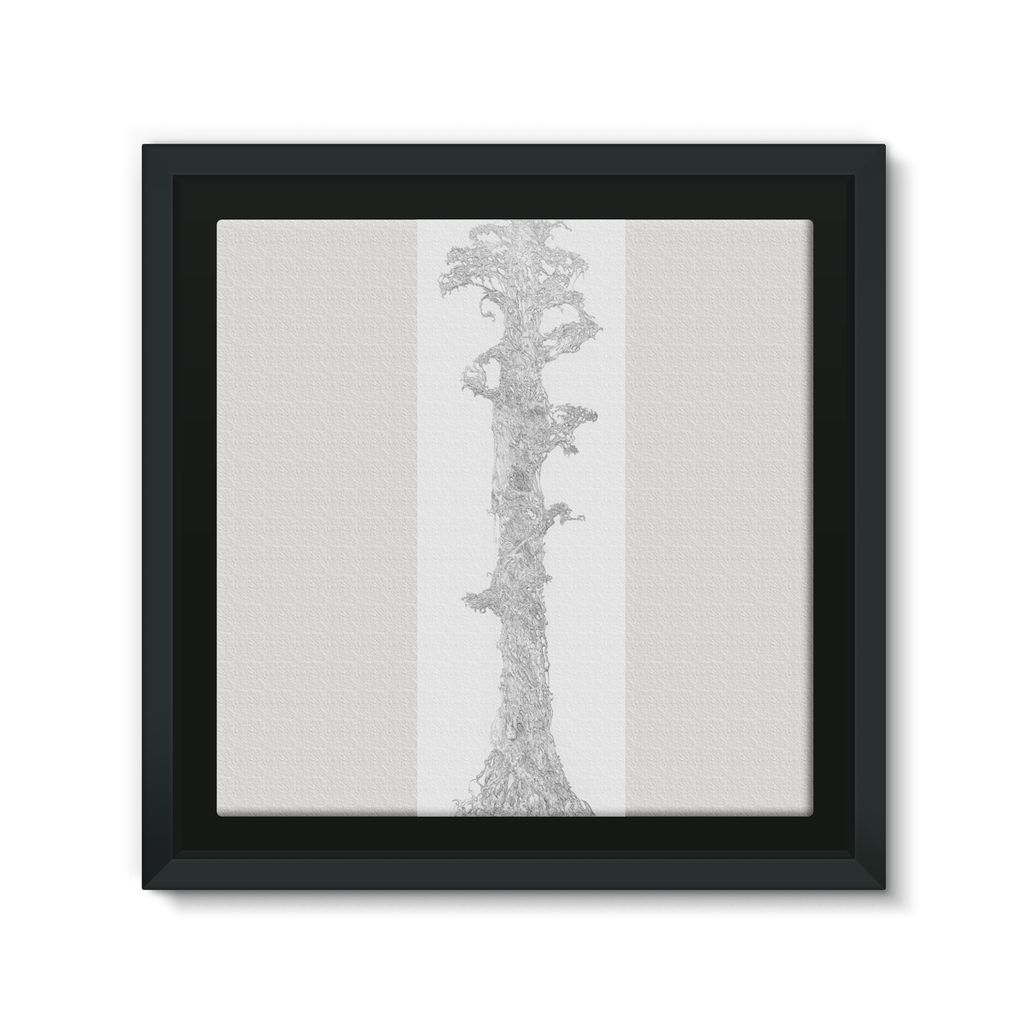Sky Tree Framed Eco-Canvas