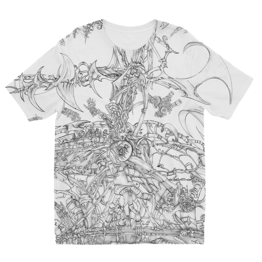 Flying Laser Kids' Sublimation T-Shirt