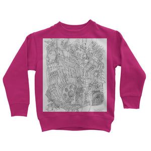 Rumble-Tank Kids Sweatshirt
