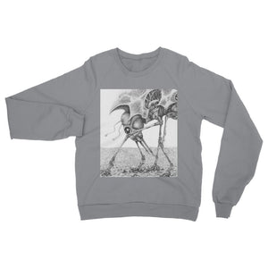Giant Alien Bug Womens Sweatshirt