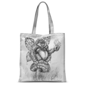 Pickles (The Fairy-Gorilla) Sublimation Tote Bag