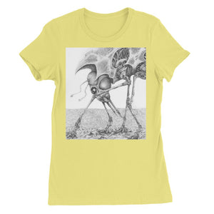 Giant Alien Bug Womens Favourite T-Shirt