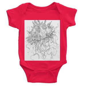 Jellyfish-O-War Baby Bodysuit