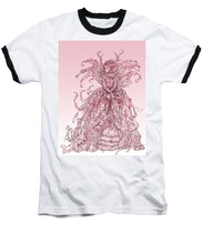 Load image into Gallery viewer, Pink Brambles - Baseball T-Shirt