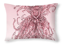 Load image into Gallery viewer, Pink Brambles - Throw Pillow